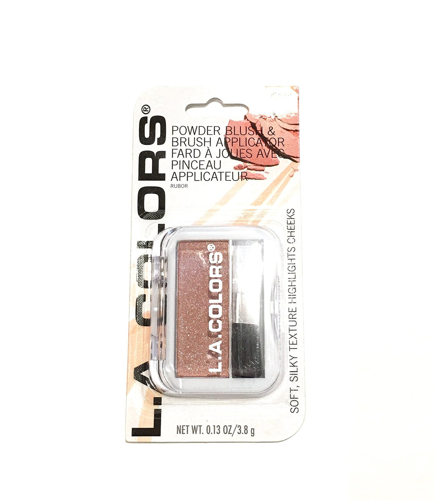 L.A Colors Professional Series BLUSH with Applicator, BSB331 Peach Rose, 0.13 Oz - $4.94