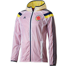 ADIDAS COLOMBIA WOVEN ANTHEM TRACK JACKET FIFA WORLD CUP BRAZIL 2014. - $150.00