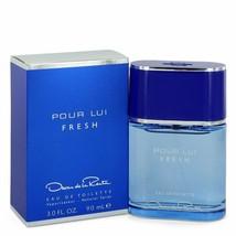Oscar Pour Lui Fresh by Oscar De La Renta 3 oz EDT Cologne Spray for Men NIB - $25.60