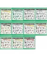 NEW NFL Family Auto Decals 25 Piece - Car Stickers Emblems - 10 Teams Yo... - $9.99+