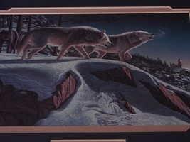 Kim Norlein Midnight Prowlers (Wolves) Framed  image 3