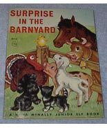 Child's Junior Elf Book Surprise in the Barnyard - $5.00