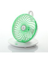 Portable Coffee Cup Style Office Desktop USB Cooling Fan 90 Degree Adjus... - $23.13