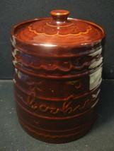 Vintage MarCrest Ovenproof Stoneware Cookie Jar... - $32.73