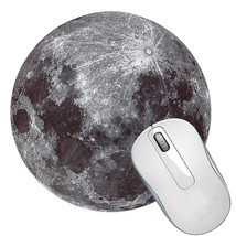 "8 Diameter Round Moon Surface Cosmic Mouse Pad Mat "" - $7.53"