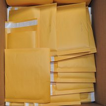 "#3 8.5x14.5"" KRAFT BUBBLE MAILER PADDED ENVELOPES-100ct - $28.37"