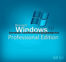 Microsoft Windows XP Professional Edition 64 bi... - $16.65