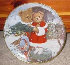 Franklin Mint Fur-Ever Yours Patricia Brooks Plate GA3770 - $5.93