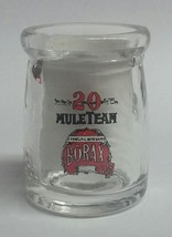 20 Mule Team Borax Advertising Glass Dairy Crea... - $12.99