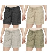 Sonoma Womens Stretch Twill Shorts 4-Pocket Mid-Rise Size 8-16 NEW $32 - $19.00