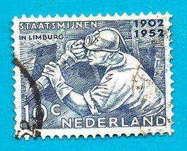 Netherlands (used postage stamp) 1952 Limburg #587 - $0.10