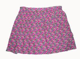 Mossimo Pink Rayon Floral Skirt - $12.99