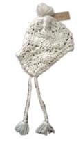 American Ragcie Women's Crochet Hat Ivory - $12.99