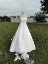 Jessica White Bridal Gown Full Length - $79.99+