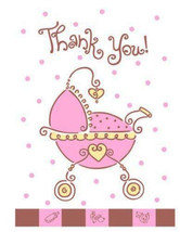 Unique 8 Thank You Notes with Envelopes Blank Cards Inside - $1.59