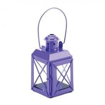 Mini Crisscross Candle Lamp Purple (pack of 1 EA) - $6.83