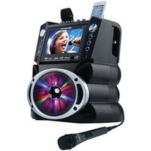 """Karaoke Usa Dvd And Cd+g And Mp3+g Bluetooth Karaoke System With 7"""" Tft ... - $219.99"""