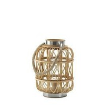 Small Woven Rattan Candle Lantern (pack of 1 EA) - €15,30 EUR