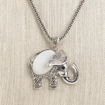 Mother Of Pearl Elephant Necklace (pack of 1 EA) - $8.39