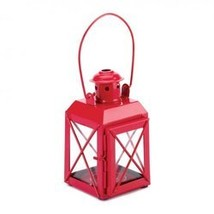 Mini Crisscross Candle Lamp Red (pack of 1 EA) - $6.83