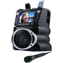 """Karaoke Usa Dvd And Cd+g And Mp3+g Bluetooth Karaoke System With 7"""" Tft ... - $199.99"""