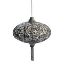 Metal Design Hanging Candle Lantern (pack of 1 EA) - €32,44 EUR