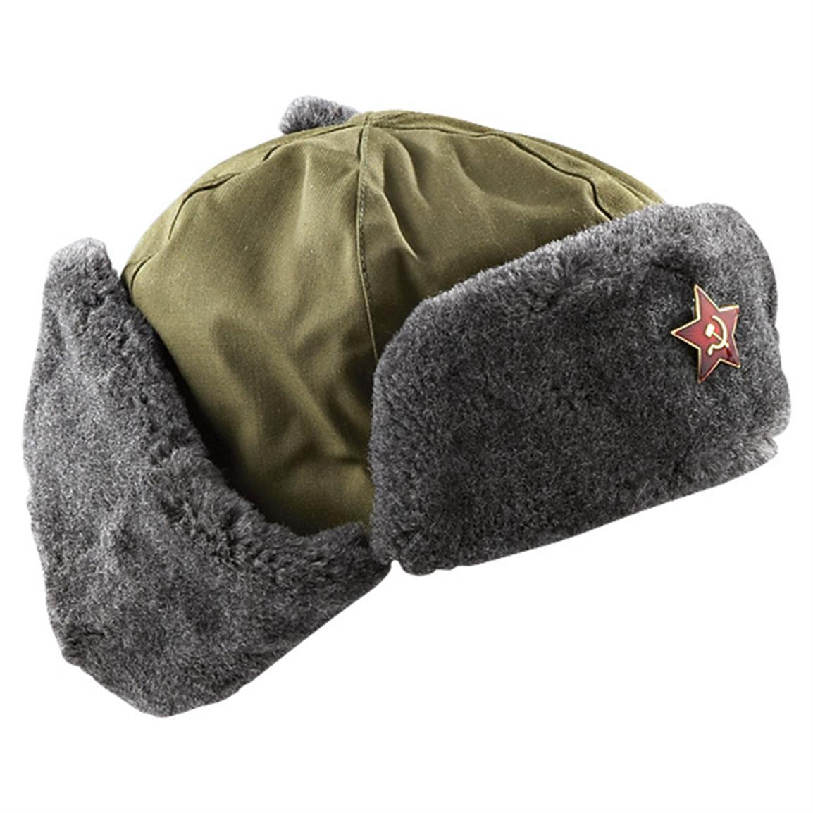 950592c63dd Vintage Czech cold war communist ushanka and similar items