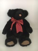 "Gund 11""  Ltd. Ed. Vintage 1990 Black Bear SIGNED Rita Swedlin Raiffe #1... - $41.84"