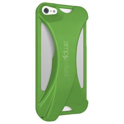 Kubxlab AmpJacket Acoustic Amplifier Case - iPhone5 (Green)
