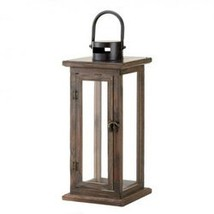 Perfect Lodge Wooden Lantern (pack of 1 EA) - $18.85