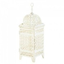 Quatrefoil Design Cutout Lantern (pack of 1 EA) - $7.30