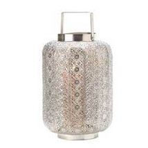 Polished Silver Lace Design Lamp (pack of 1 EA) - £20.02 GBP