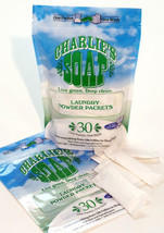 Charlie's Soap Laundry Powder Packets, 30 Count - $14.84