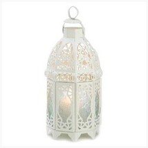 White Lattice Lantern (pack of 1 EA) - $9.40