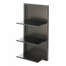 Black Folding Wall Shelf (pack of 1 EA) - $31.45