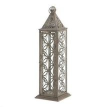 Gorgeous Antiqued Tall Distressed Finish Lantern (pack of 1 EA) - €15,73 EUR
