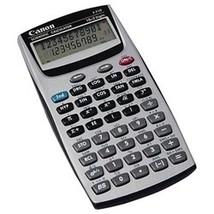 Canon F-605 Scientific Calculator (pack of 1 Ea) - $6.52