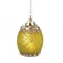 Citron Filigree Candle Lantern (pack of 1 EA) - $6.83