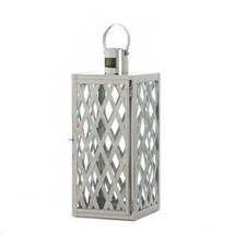 Steel Lattice Medium Lantern (pack of 1 EA) - $31.44