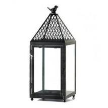 Black Bird Iron Lantern Large (pack of 1 EA) - €14,52 EUR