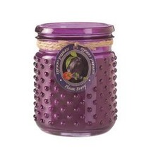 Plum Berry Hobnail Jar Candle (pack of 1 EA) - $8.77