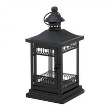 Simply Black Garden Candle Lantern (pack of 1 EA) - $10.45