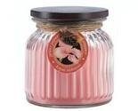Royal Hibiscus Ribbed Jar Candle (pack of 1 EA)