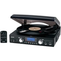 Jensen 3-speed Stereo Turntable With Mp3 Encodi... - $72.01