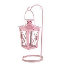 Pink Iron Railroad Hanging Lantern Pair (pack of 1 PR) - €5,52 EUR
