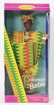 1996 GHANIAN BARBIE DOLLS OF THE WORLD DOTW NRFB - $15.80