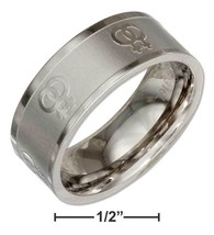 STAINLESS STEEL 8MM LASER ETCHED LESBIAN GAY PR... - $15.00
