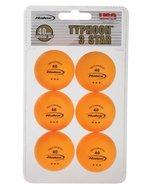 Halex 3-Star Table Tennis Balls - Orange - BA180P - $35.00