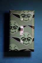 Star Wars Yoda Light Switch Plate Cover bedroom room home decor vader man cave - $7.91