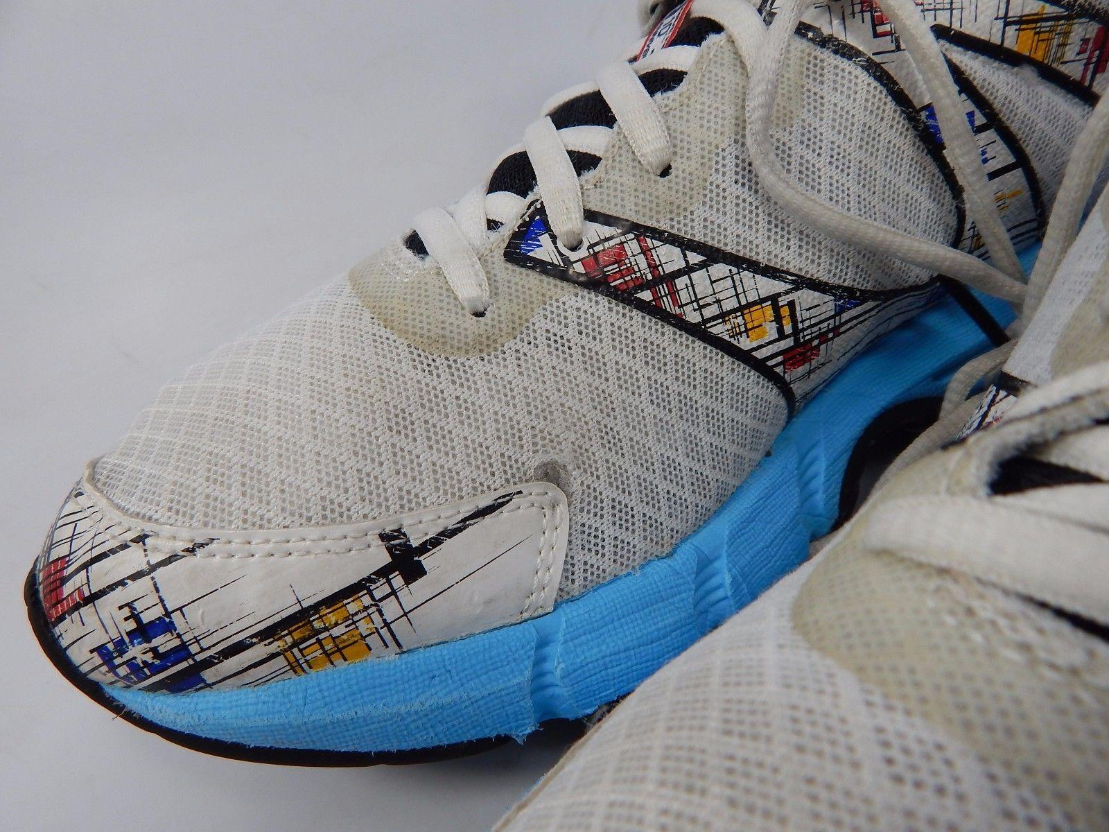 Mizuno Wave Inspire 10 Women's Running Shoes Size US 10.5 M (B) EU 42 Blue White